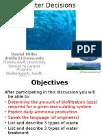 Biofilter Decisions