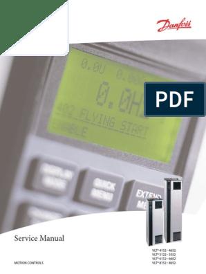 Danfoss Manual (Service)   Power Inverter   Rectifier on