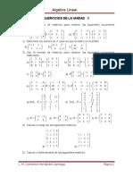 Problemario de La Unidad 2 - Alg -Lin