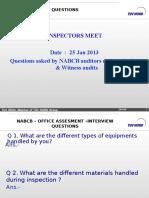 NABCB FAQ