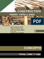 Sistema Constructivo Tapial Caña y Paja Final