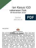 Laporan Kasus IGD 9-11-201