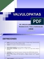 CARDIOPATIAS I -VALVULOPATIAS
