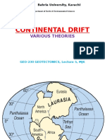 Lecture5 Continental Drift