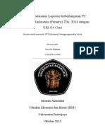 Analisis Kesesuaian Laporan Keberlanjutan PT Bank Negara Indonesia (Persero) Tbk. 2014 dengan GRI G4 Core