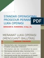 Standar Operasional Prosedur Perawatan Luka Operasi