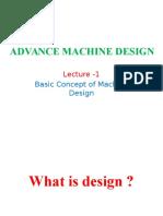 Machine Design Lec- 1