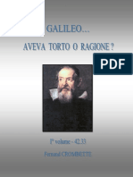 Galileo aveva torto o ragione?