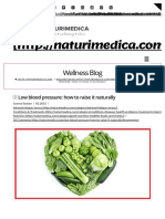 Low Blood Pressure_ How to Raise It Naturally - NATURIMEDICA
