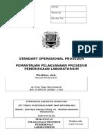 Sop Pemantauan Pelaksanaan Prosedur Pemeriksaan Laboratoriumn Bbn