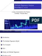 Econometrics UC3M