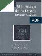 Ibn Arabi El Interprete de Los Deseos