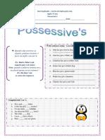 4. Ficha de Trabalho - Possessive Case (1)