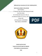 Tugas Majik_ Bu Roebi Dan Pak Dahlan_Jumat 13.00_ Strategi Diversifikasi Dan Analisa Nucor Corporation _ Nama Kelompok_Siti Fatimatuzzahra (120110140013)_Rikky Adiwijaya (120110140017)