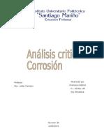 Corrosion Analisis Critico