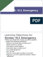 Stroke 911