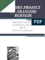 francois berneir
