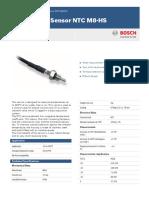 Bosch Motorsport NTC M8-HS datasheet (F 02U V00 509-01)