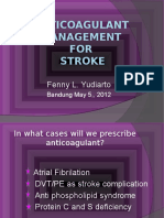 Anticoagulat Management for Stroke New