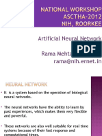 ANN Lecture_1 Nov Rama Mehta