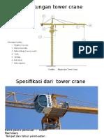 Perhitungan Tower Crane