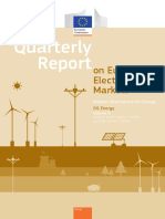 Quarterly Report on European Electricity Markets q4 2015-q1 2016