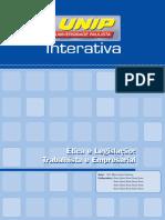 Ética e Legislação - Trabalhista e Empresarial_unid_I