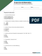 GP4 Sistemas Numeracion Operatoria Problemas