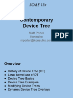 Contemporary Device Tree