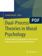 Dual Process Theories in Moral Psychology