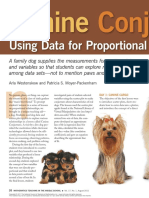 Using Data for Proportional Reasoning