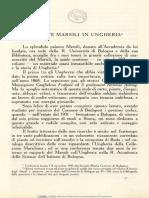 A. Veress, Il Conte Marsili in Ungheria , Corvina 19-20 (1930)