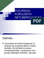 PLEUREZIA PURULENTA NETUBERCULOASA.ppt