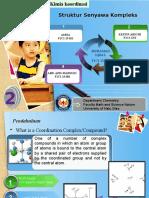 Struktur Senyawa Kompleks PPT
