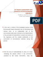 Environmental Impact Assessment and the Importance of Environmental