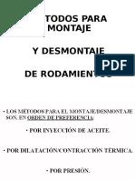 3-Montaje y Desmontaje de Rodamientos.ppt
