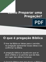 Como Preparar Um Sermão
