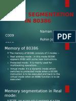80386 segmentaion