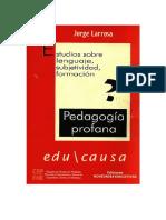 LarrosaPedagogiaProfana.pdf