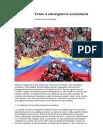 Venezuela Frente a Emergencia Económica