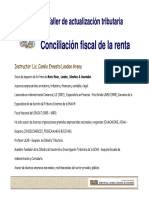Conciliacion Fiscal de La Renta