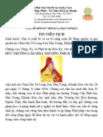 Tin Vien Tich in Vietnamese and English