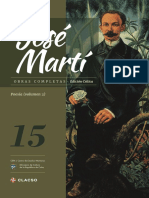 Jose Marti Tomo 15