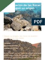 1. Clasificación de Las Rocas