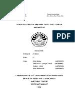 Laporan Pupuk Padat Kelompok 2 Teknik Kimia D3 Kelas C