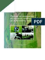 Manual de Evaluación de Impacto Ambiental de Actividades Rurales