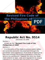 Revised Fire Code of the Philippines of 2008