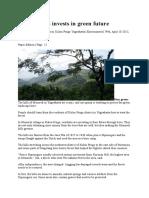 Kulon Progo Invests in Green Future