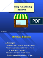 Chap05 Buying an Existing Business