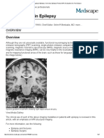 Neuroimaging in Epilepsy_ Overview, Epilepsy Protocol MRI, Evaluation of a First Seizure